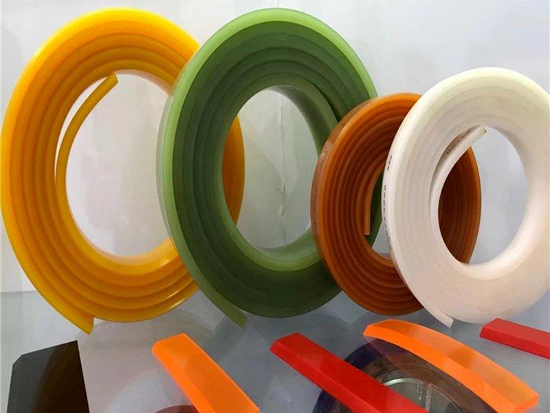 Pu screen printing squeegee used for printing machine