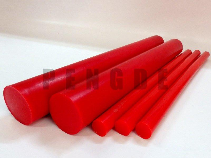 Red Color 90A PU Rod