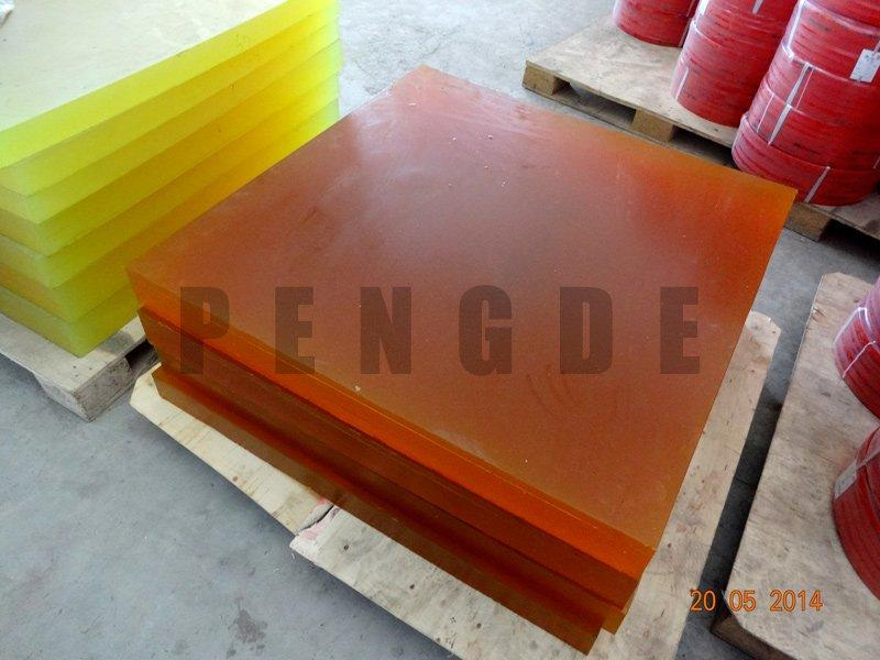 85A to 90A Tea Color Rod Sheet