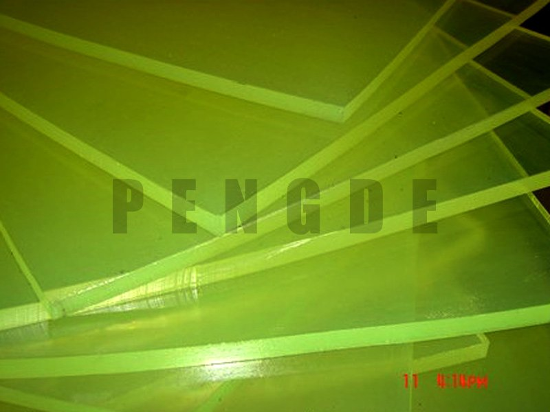 PENGDE 500x500mm PU Sheet As Cushion Part PU Rod & Sheet image4