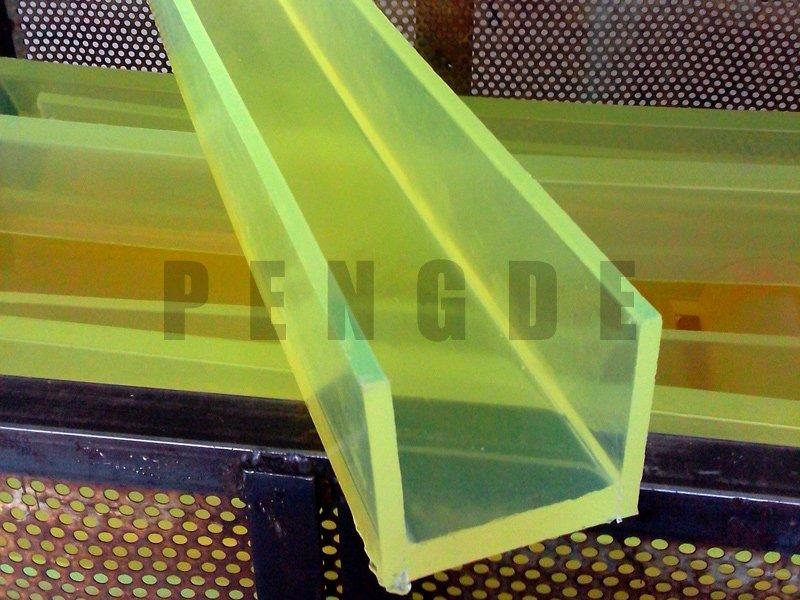 PU Groove Sheet Use In Stamping Equipment