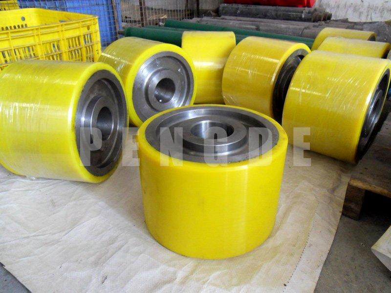 Large Size Polyurethane Roller for Screen Printing