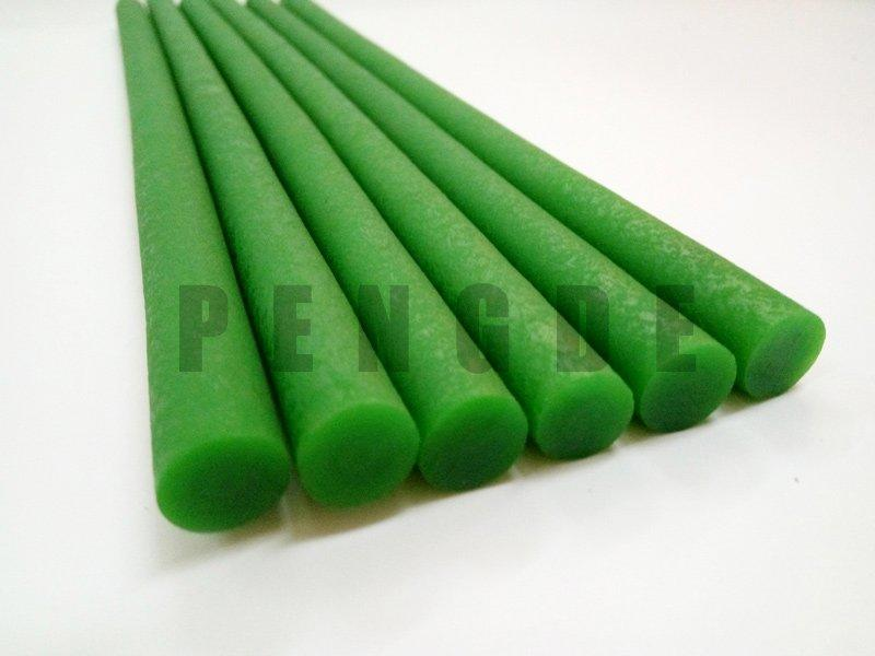 Thermoplastic Polyurethane Rough Round Green Drive Belt