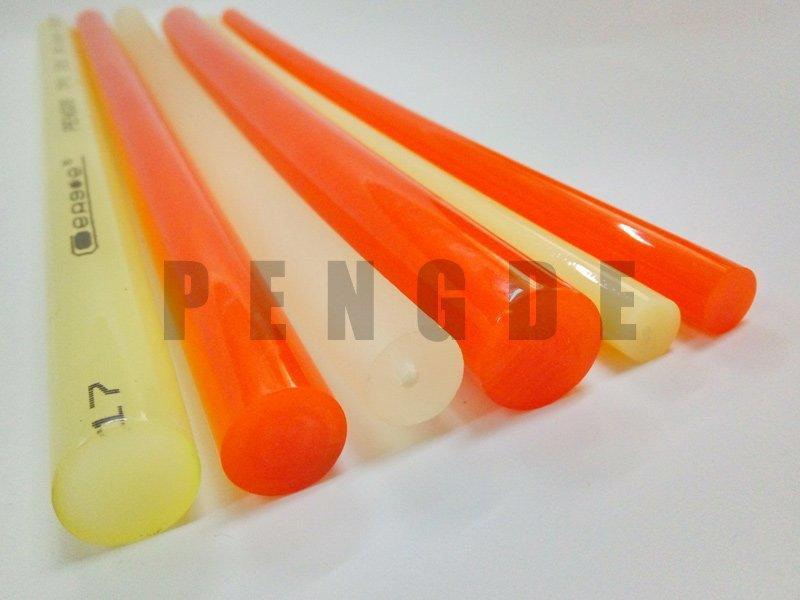 Polyurethane Rod PU Smooth Red Round Belt