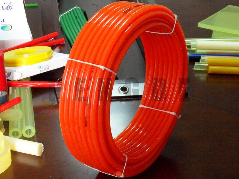 Polyurethane Rod PU Smooth Red Round Belt
