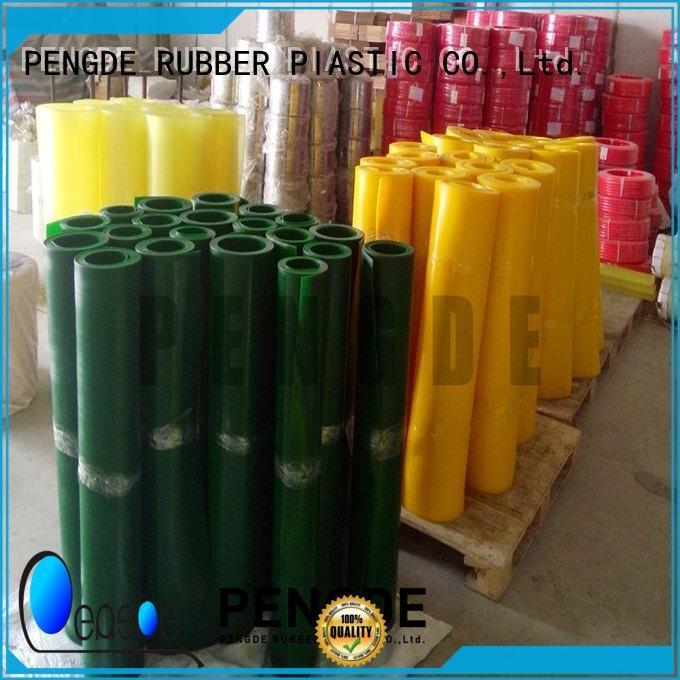 PENGDE customized polyurethane plastic sheet factory price for metallurgy