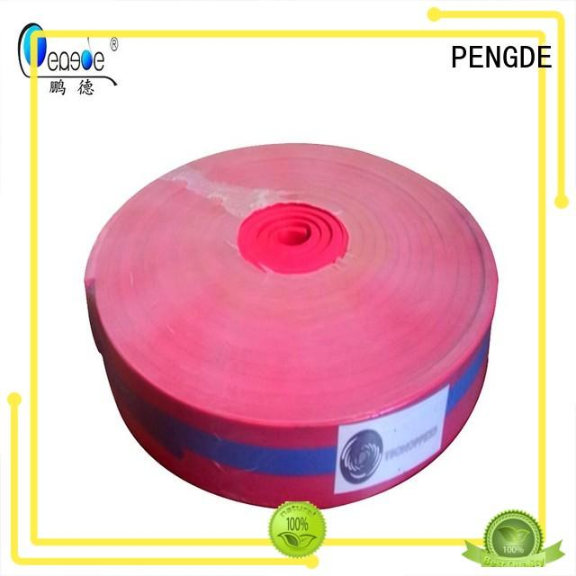 PENGDE Brand round water resistant screen printing squeegee blades manufacture
