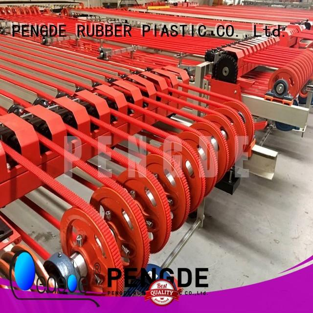 PENGDE polyurethane timing belts factory price for workshop