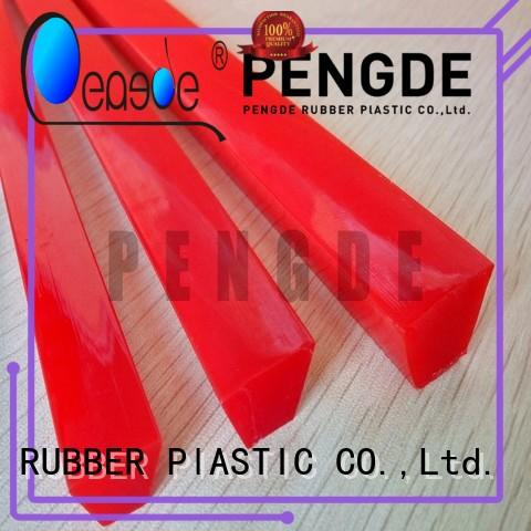 PENGDE pu timing belt factory price for workplace