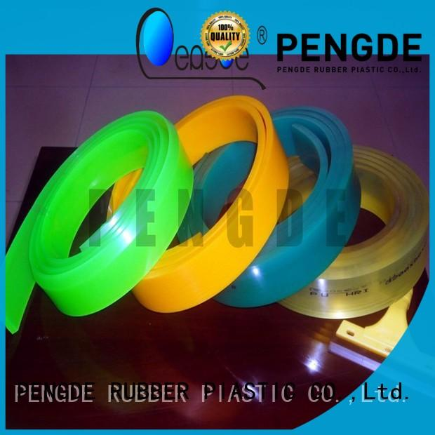 PENGDE multi function screen printing squeegee blades directly price for ceramic