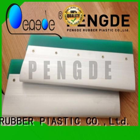 Custom excellent durability screen printing squeegee blades PENGDE edge