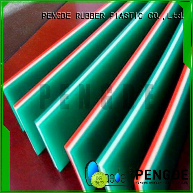 resisitance screen printing squeegee blades pu PENGDE company