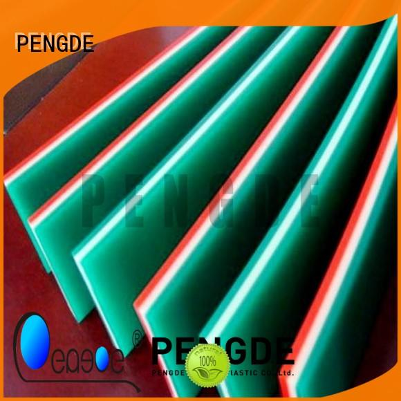 PENGDE high elasticity screen printing squeegee suppliers directly price for glasses cleaning
