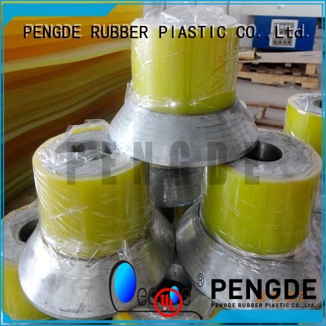 polyurethane floor roller on sale for textile PENGDE