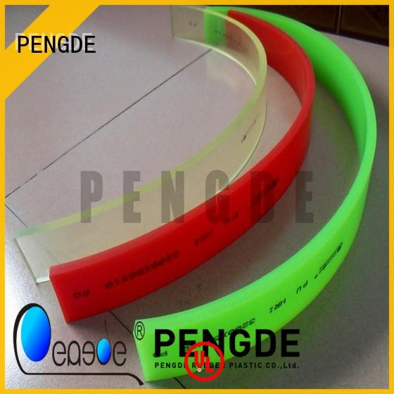 oil resistan screen printing squeegee blades on sale for stickled film industry