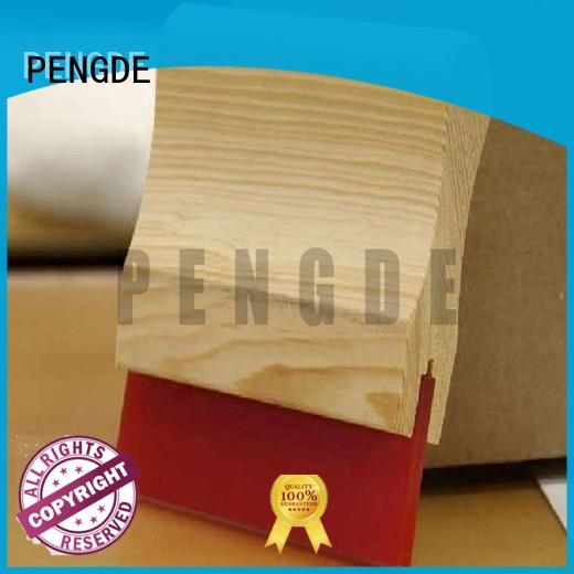 Quality PENGDE Brand screen printing squeegee handle resisitance pu